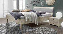 Bett Armevia Massivholzbett stabil 120x200 cm