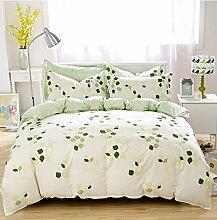 Bett Baumwolle Vierstück Einfache Baumwolle Denim Bettwäsche Cotton Four Single Family Of Four Doppel Suites Bettwäsche-Sets von vier ( größe : 1.2m Bed )
