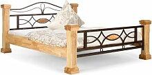 Bett Byzanz Massivum Liegefläche: 140 x 200 cm,