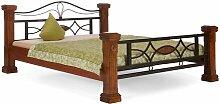 Bett Byzanz Massivum Liegefläche: 180 x 200 cm,