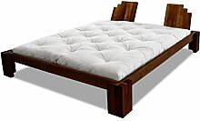 Bett Cascata Erle massiv Futonbett von Futononline