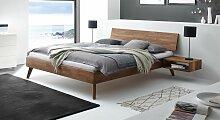 Bett Coraia Massivholzbett stabil 140x200 cm