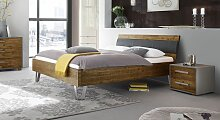 Bett Detaria Massivholzbett stabil 120x200 cm