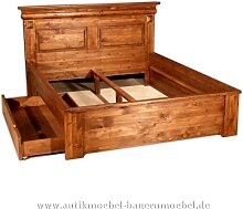 Bett Doppelbett Schubkastenbett Bettgestell