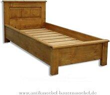 Bett Einzelbett Holzbett 90x 200 Massivholz