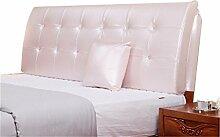 Bett große Kissen abnehmbare und waschbare Doppelbett zurück Kissen Lendenwirbelstütze Bedside Rückenlehne, rosa ( größe : 150*62cm )