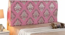 Bett große Kissen abnehmbare und waschbare Doppelbett zurück Kissen Lendenwirbelstütze Bedside Rückenlehne, rosa ( größe : 150*50cm )