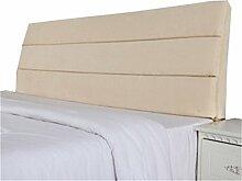 Bett große Kissen abnehmbare und waschbare Doppelbett zurück Kissen Lendenwirbelstütze Bedside Rückenlehne, Beige ( größe : 150*50cm )