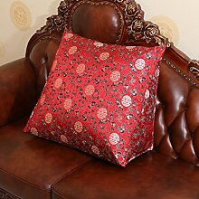 Bett-Kissen/Exklusiv und dreieckigen Kissen/ Büro des lumbalen Kissen/ zurück auf dem Bett/ Auto-Taille/Kissen-H 30x60x50cm(12x24x20)