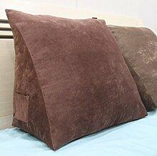 Bett - Kissen Large Sofa Kissen Dreidimensionale Back - To - Back Kissen Dreidimensional ( Farbe : 5# , größe : 20*50*50cm )