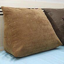 Bett - Kissen Large Sofa Kissen Dreidimensionale Back - To - Back Kissen Dreidimensional ( Farbe : 7# , größe : 20*50*50cm )
