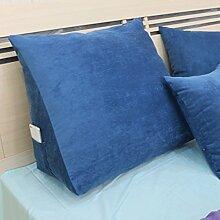 Bett - Kissen Large Sofa Kissen Dreidimensionale Back - To - Back Kissen Dreidimensional ( Farbe : 4# , größe : 20*50*50cm )
