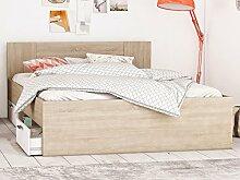 Bett Kompaktbett Bettrahmen Doppelbett Bettgestell