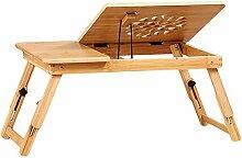Bett Laptop Tisch Kühltisch Bambusbett Kleiner