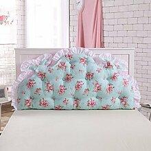 Bett lehne positionierung unterstützung kissen lese kissen Triangle big kissen Baumwolle Drucken Stereo Koreanischer stil dreieckige keil dämpfung-L