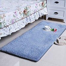 Bett Matten Rechteck Matten Schlafzimmer Wohnzimmerteppich-E 50x80cm(20x31inch)