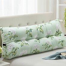 Bett mit großen Kissen / Bett Kissen / Kissen Taille / Doppelbett weichen Beutel / Leinwand Kissen / ( größe : 22*50*150cm , stil : A )
