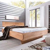Bett mit Komforthöhe Kernbuche Massivholz