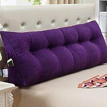Bett mit Lenden- / Sofa mit großem Rucksack / Kissen / Kissen Kissen / Doppel-Bett Kissen / ( größe : 23*50*150cm )