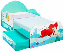 Bett Prinzessin Ariel mit Schublade, 70 x 140 cm