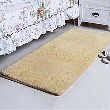 Bett-rechteckige Matten-Schlafzimmer-Wohnzimmer-Kaffeetisch-Decken-Tür-Matte Produkt-Größe: 60 * 90cm