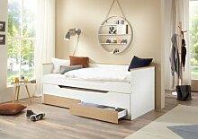 Bett Ronny 90x200 cm Funktionsbett 2 Liegeflächen