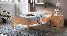 Bett San Martino Komfortbett 90x200 cm Buche natur
