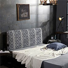 Bett soft pack Massivholzbett kissen Doppelte tatami-rückenlehne Kissen Zurück Bettdecke-H 120x10x60cm(47x4x24)