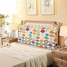 Bett soft pack Massivholzbett kissen Doppelte tatami-rückenlehne Kissen Zurück Bettdecke-B 200x10x60cm(79x4x24)