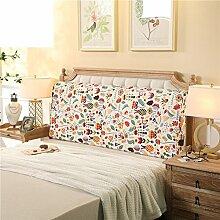 Bett soft pack Massivholzbett kissen Doppelte tatami-rückenlehne Kissen Zurück Bettdecke-D 120x10x60cm(47x4x24)