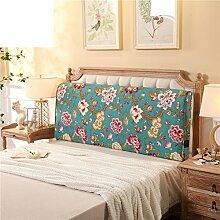 Bett soft pack Massivholzbett kissen Doppelte tatami-rückenlehne Kissen Zurück Bettdecke-A 120x10x60cm(47x4x24)