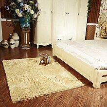 Bett Teppich Teppichladen für Kinder Sofa im Wohnzimmer abwaschbar Chenille Teppich Kinderzimmer abwaschbar 80 * 160cm