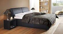 Bett Trapani Polsterbett  140x200 cm weiß,