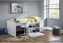 Bett Trevino mit Schreibtisch, 90 x 190 cm