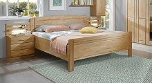 Bett Trikomo Massivholzbett stabil 180x190 cm Erle