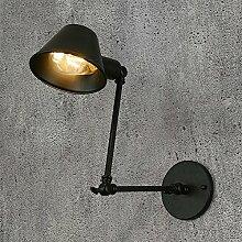 Bett Wandleuchte Individualität Schlafzimmer American Loft lange Arm Eisen Wandleuchte