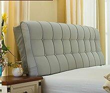Bett weiche Tasche Doppelbett Kissen European - Style weiche Kissen Rückenlehne Betthaube (180 * 58 * 12cm) ( Farbe : # 2 )