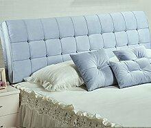 Bett weichen Paket Bedside Kissen Doppelbett weichen Paket Bedside Rückenlehne Kissen Bett Abdeckung ( Farbe : # 4 )