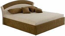 Bett Zuniga Komfort-Liegehöhe 55 cm mit Stauraum,