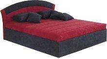 Bett Zuniga Standard-Liegehöhe 45 cm mit Stauraum
