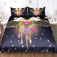 Bettbezüge ?3 Stück?, Creative Queen-Size-Bett