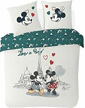Bettbezug 200 x 200 cm Mickey & Minnie – Love in