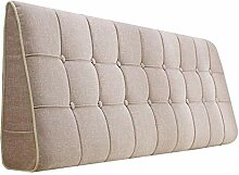 Bettbezug mit / ohne Kopfteil 150 cm Beige mit