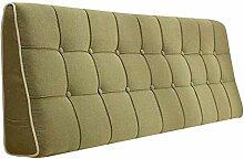 Bettbezug mit / ohne Kopfteil 150 cm Grün mit