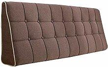 Bettbezug mit / ohne Kopfteil 90 cm Braun ohne