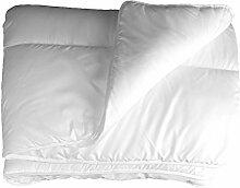 Bettdecke 220x240 cm 2 Personen Inlett Decke Übergröße Steppbett Zudecke