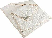 Bettdecke 4 Jahreszeiten Schurwolle kbT Baumwolle