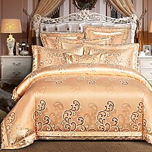 Bettdecke bettwäsche set decken versatzstücke hohe qualität 100 % extra grundnahrungsmittel baumwolle 4 doppelbett blatt amerikanische europäischen stil -O Queen2