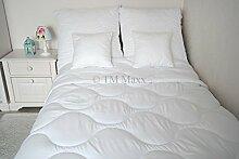 Bettdecke Decke Leichtdecke Sommerbett Sommerdecke Steppbett Bettwaren Microfaser 200x220cm Soft Dream