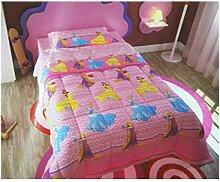 Bettdecke Steppdecke Einzelbett Mädchen Disney